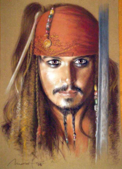 Johnny Depp par marius